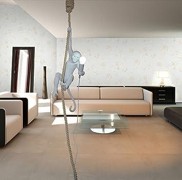 Lihuideng Monkey Kronleuchter Weiss Modern Dekoriert Retro Esszimmer