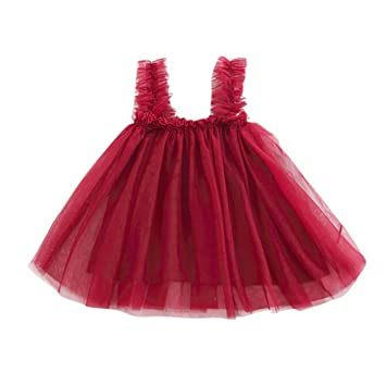 0fd55b569a18 2019 New Girls Tutu Skirt,Children's Open Back Net Skirt Slip Dress  Princess Backless Strap
