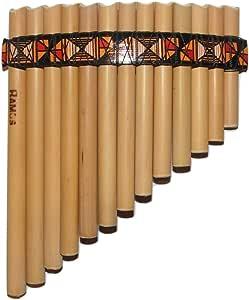 Principiantes flauta de pan (bambú + Case + Guía Libro y