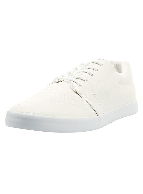 b11eb12c04ee oodji Ultra Hombre Zapatillas de Piel Sintética de Suela Fina  Amazon.es   Zapatos y complementos