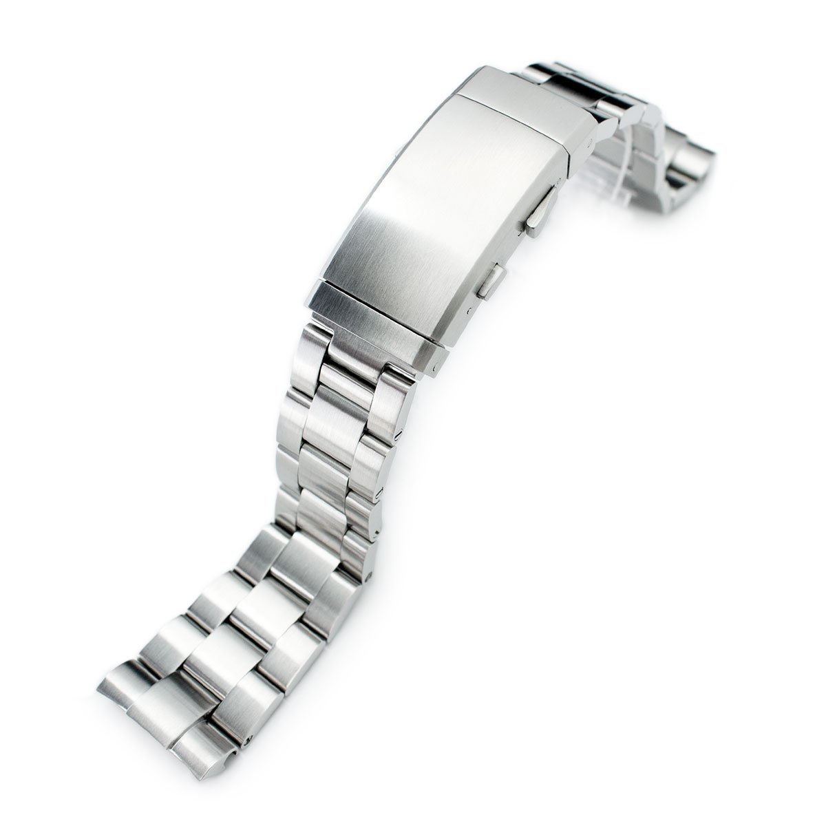 22mm Super Oyster Watch Bracelet for Seiko New Turtles SRP777 & PADI SRPA21 Ratchet Brushed