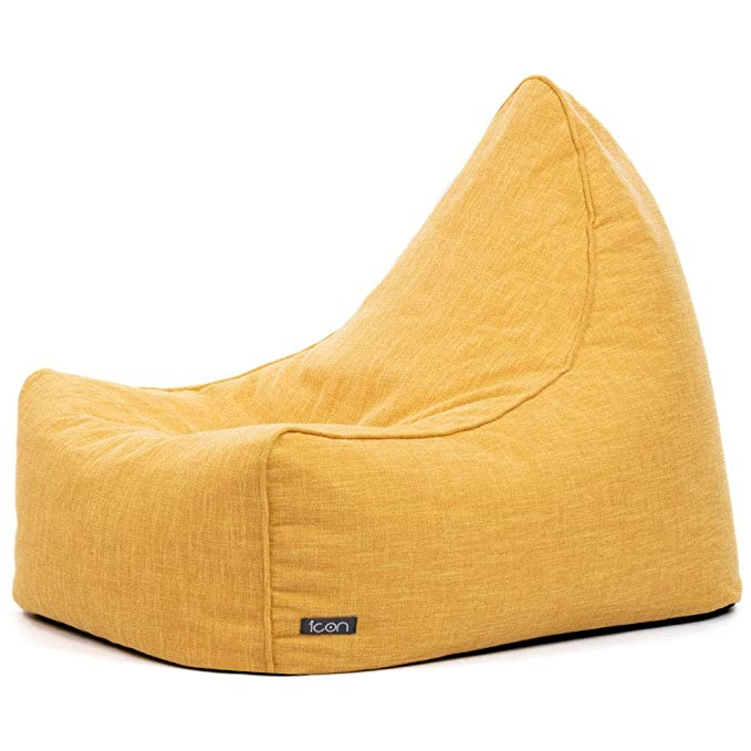 Swell Icon Oslo Lounger Scandi Woven Herringbone Bean Bag Inzonedesignstudio Interior Chair Design Inzonedesignstudiocom