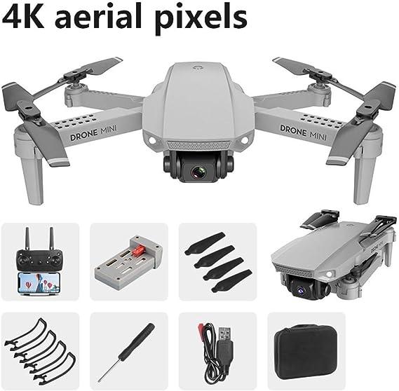 Youth ever E88 Mini UAV 4K Quadcopter Plegable de fotografía aérea ...