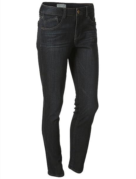 Amazon.com: Wit y sabiduría elástico ligero Skinny Jeans ...