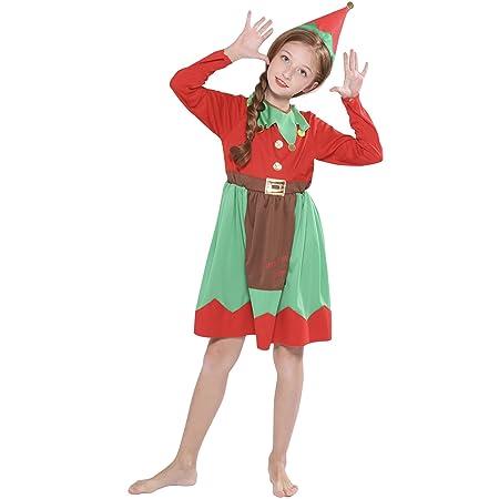ZXYSHOP Niño Regalo Cosplay Bebe Disfraz Infantil para Navidad ...