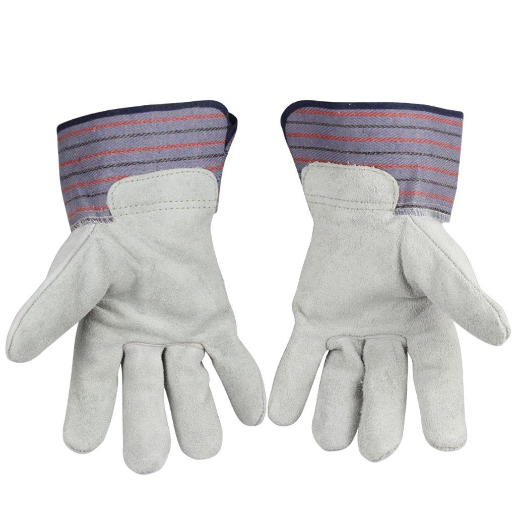 benfa安全手袋通気性耐摩耗性シンプルな溶接絶縁Industrial手袋 L 197-260 B07CGN1WQJ Large