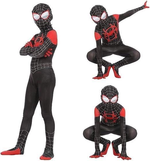 Rmckj-Q Disfraz De Spiderman Niños Adultos Disfraces De Superhéroe ...