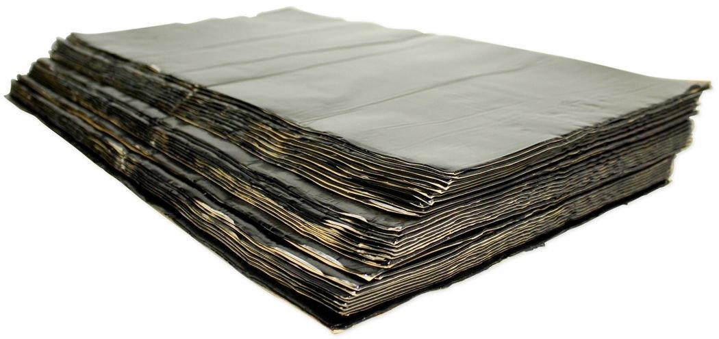 Brand New Hushmat 10500 Bulk Kit with 30 Black Sheets (58 Square Feet)