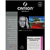 Canson InFinity Photo Lustre Premium Papier Photo 310 g A4 Extra Blanc - Lot de 25 Feuilles