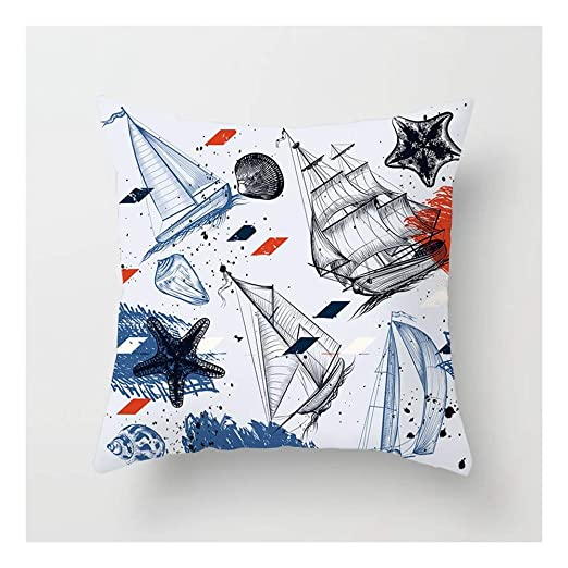 SHUCHANGLE (2pcs/Set) Buque Creativo Estrella De Mar Shell ...