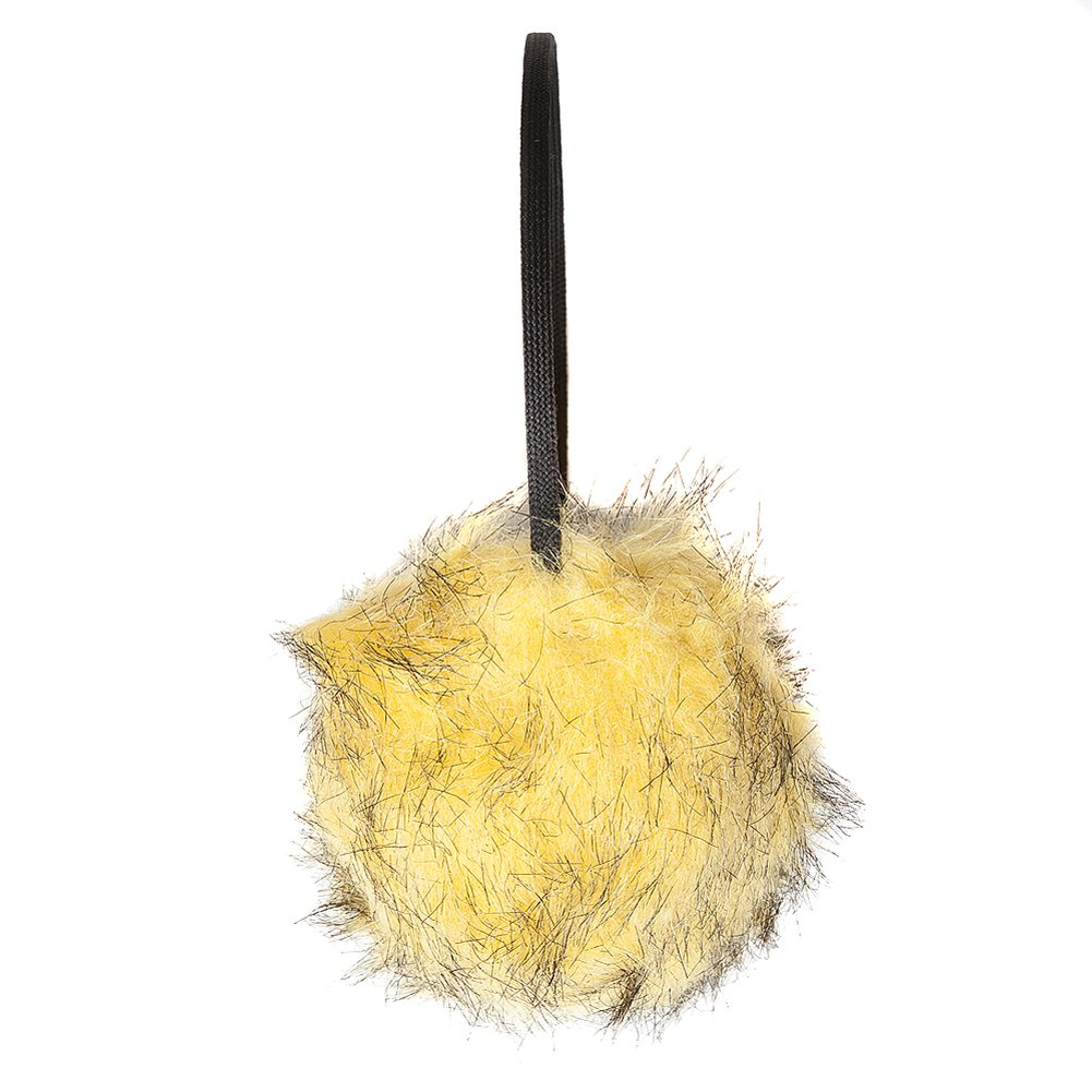 Women's Yellow Faux Fur Earmuffs
