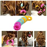 Hair Rollers Clearance , 8 Pcs Hairdress Magic Hair Styling Roller Curler Spiral Curls DIY Tools  by Little Story