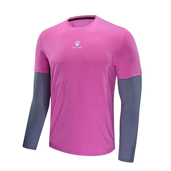 KELME - Camiseta Deportiva - para Hombre Fucsia S