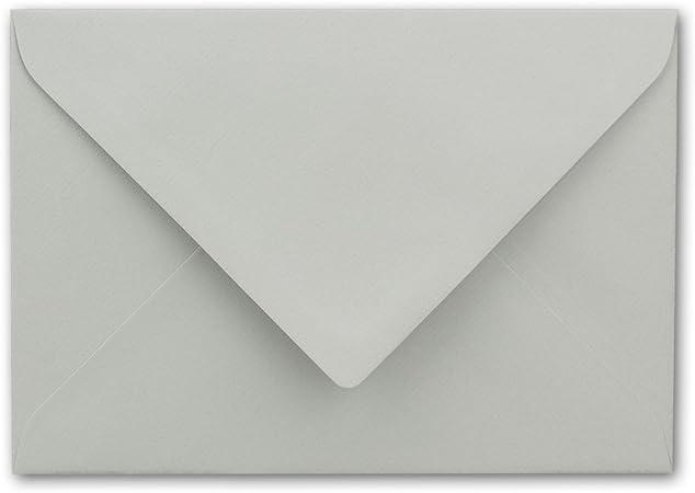 Buste DIN B6/ /Super Bianco 125/X 176/mm con fodera interna 50 pezzi Super bianco