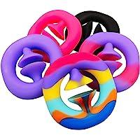 SnapIt Pop Fidget Toy, Squeeze, Snap, Sensory, Party Popper Noise Maker Stress Relief fidget Toy