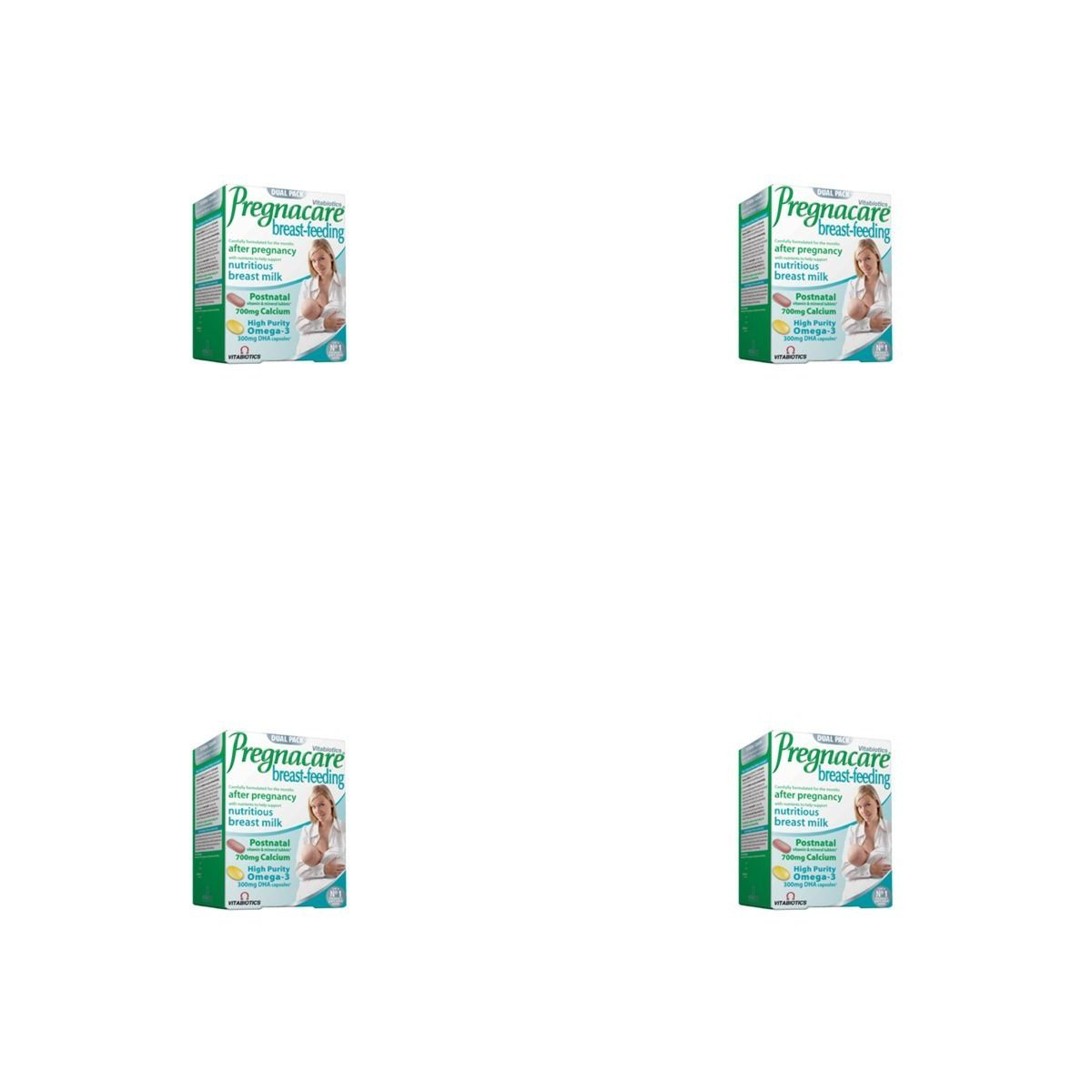 (4 PACK) - Vitabiotics Pregnacare Breastfeeding Tablets/Capsules | 84s | 4 PACK - SUPER SAVER - SAVE MONEY