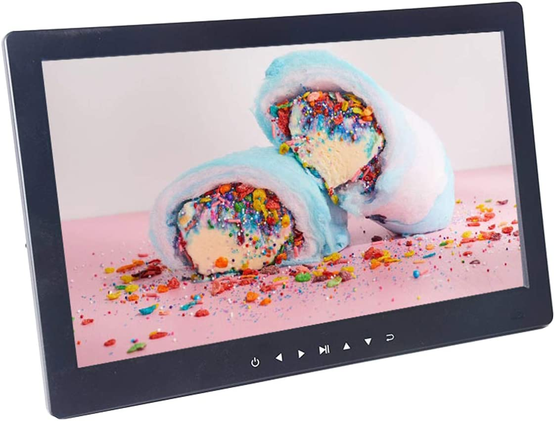 Home HD Digital Photo Frame IPS Screen 12.5 inch Advertising Player with Front Touch Button Wall mountable
