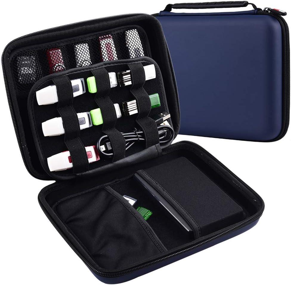 Travel USB Drive Case Carrying Thumb Holder Wallet Bag Flash Storage Organizer