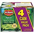 Del Monte Canned Fresh Cut Blue Lake French Style Green Beans, 14.5 Ounce, Pack of 4