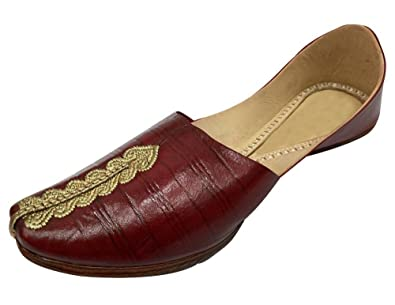 Mens Jutti Leather Mojari Khussa Handmade India Punjabitraditional Juti