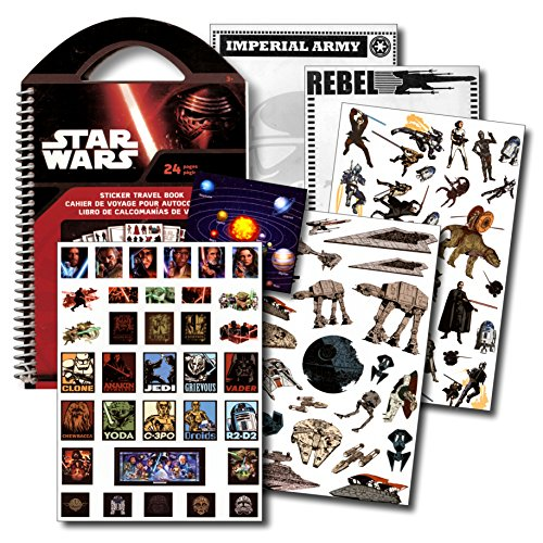 STAR WARS Stickers Travel Activity Set with Stickers, Activi