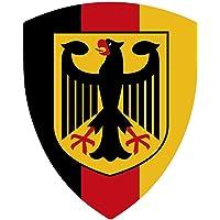 Artimagen Pegatina Escudo Pico Alemania con Emblema 40x60