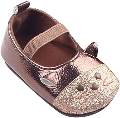 Buoyee Baby Men and Women Baby Casual Soft Bottom Toddler Shoes Buckle Shoes
