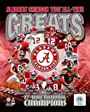 #4: Alabama Crimson Tide All Time Greats 2017 National Champions! 8x10 Photo Picture