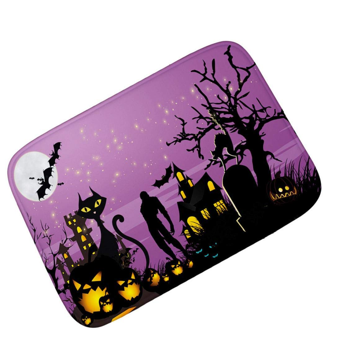 Lovewe Non-slip Carpet,Halloween Decoration,Ghosts Of The Halloween Carpet for Home Office Bedroom Non Slip(40cmX60cm) (C)