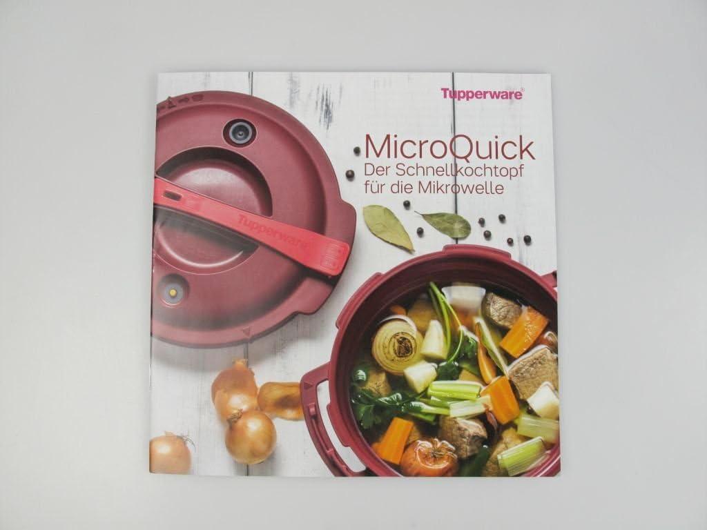 Tupperware libro de recetas de cocina de diseño de libro de