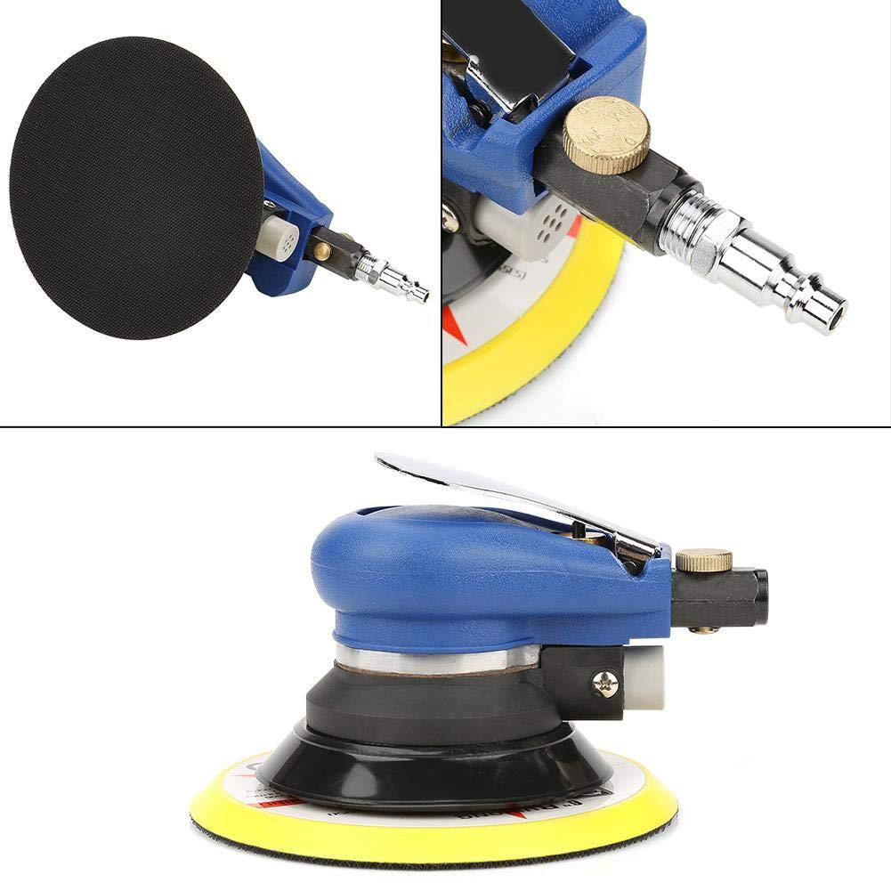 Luftschleifer 6 AT-980 5//6 Luft-Exzenterschleifer Rundpolierer Pneumatisches Handschleifwerkzeug