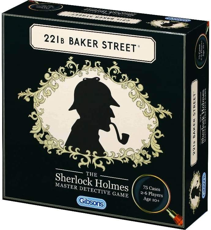 Gibsons 221B Baker Street: The Sherlock Holmes Master Detective ...