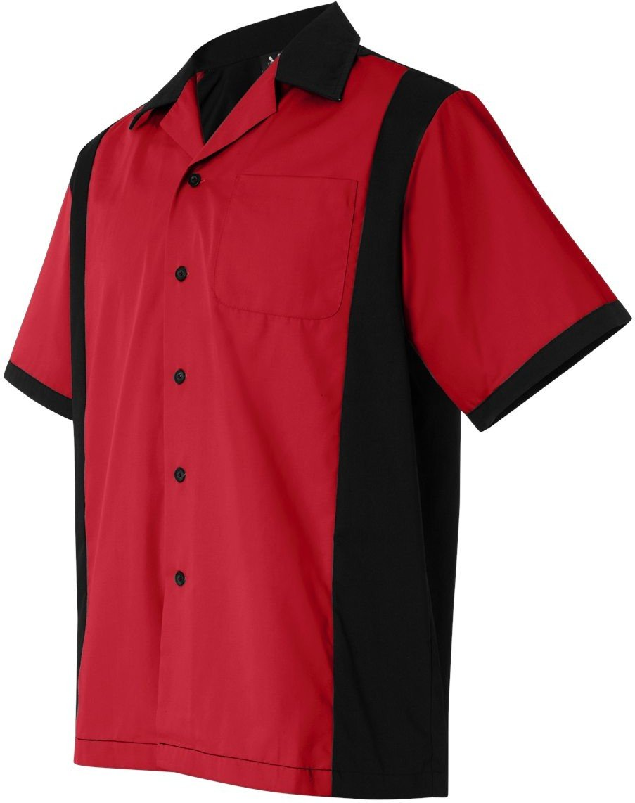 Hilton Men's Retro Cruiser Bowling Shirt HP2243