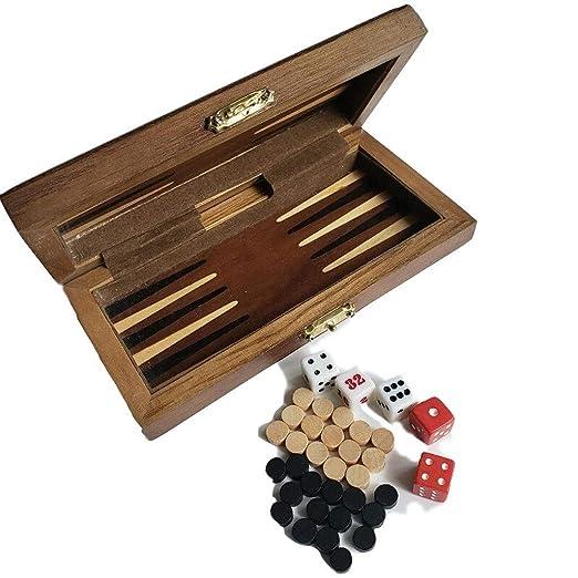 Ajedrez ParchIs Juego de Tablero de Ajedrez de Backgammon ...
