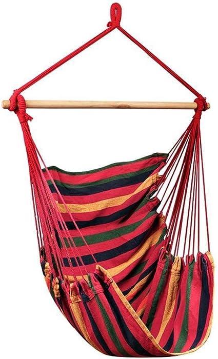 EQVUDJT Hamaca Jardin Exterior, Portable Hanging ...