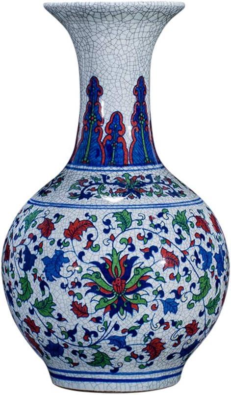 Antiguo Tradicional Jarrón Porcelana