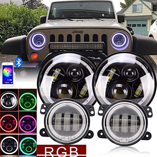 Where to find rgb led jeep headlights? | Igdy Info