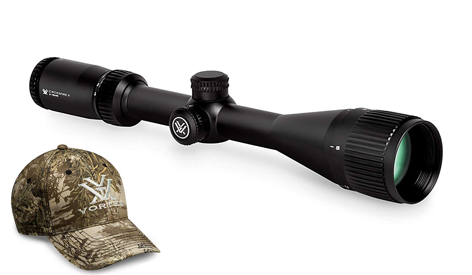 6. Vortex Optics Crossfire II 6-18x44mm AO SFP Riflescope
