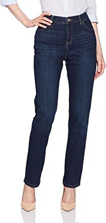 Lee Women's Instantly Slims Classic Relaxed Fit Monroe Straight Leg Jean, 6