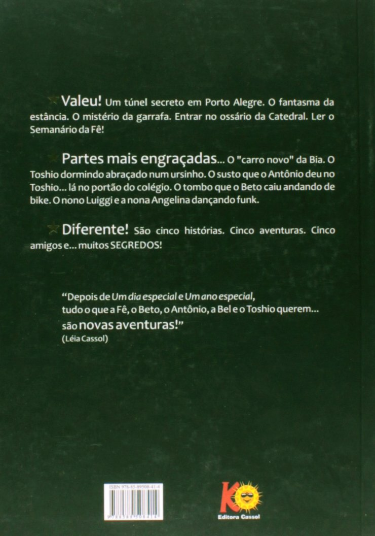 As Aventuras de Beto e Fê. O Segredo da Moeda e Outras Histórias: Léia Cassol: 9788589508414: Amazon.com: Books