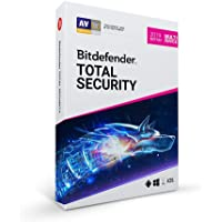 Bitdefender Total Security Multi Device|2019|5 Devices|1 Year|Windows/MAC OS/IOS/Android|Disc