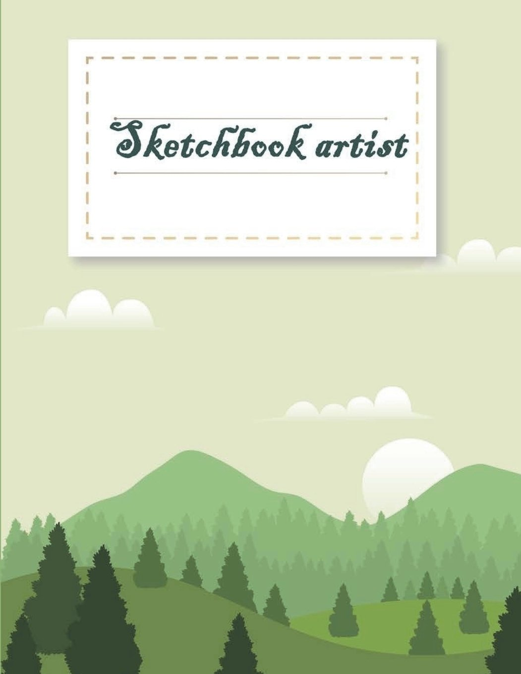 """Download Sketchbook artist: A Journal With Blank Paper For Drawing, Sketching, Doodling, Journal Writing And Notes 120 Pages Large Size 8.5"""" x 11"""" PDF"""