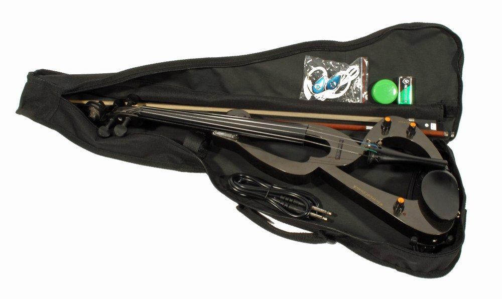 Cher rystone 4260180881028S de violín con accesorios, color negro Cherrystone