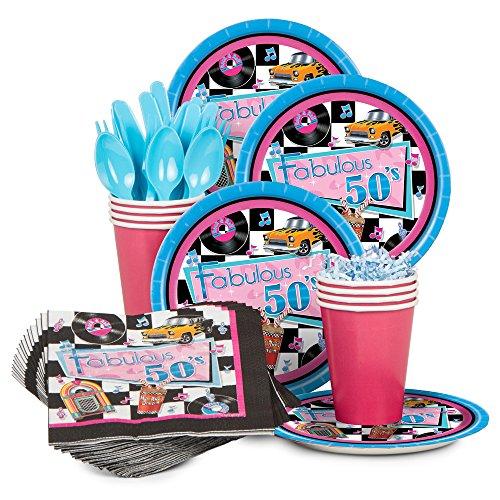 Ideas Costume 50's Hop Sock (Fabulous 50's Standard Kit (Serves)