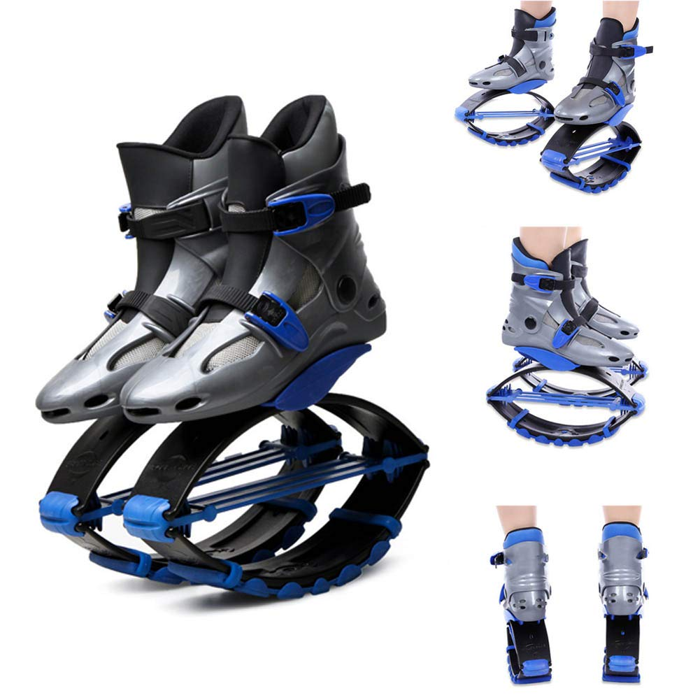 Jump Shoes Bounce Men and Women Fitness Jumping Shoes Bouncing Shoes Anti-Gravity Running Boots Adult and Children,XL