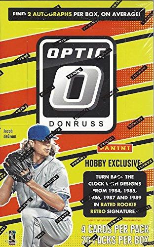 Amazoncom 2016 Panini Donruss Optic Baseball Hobby Box