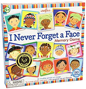 I Never Forget A Face Memory Game [Toy]
