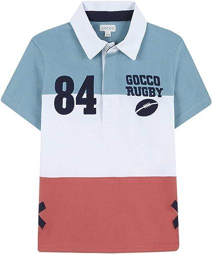 Gocco Polo Rugby (Turquesa Suave Zw), 140 (Tamaño del Fabricante:9 ...