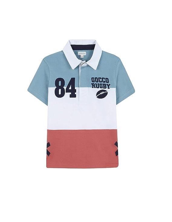 Gocco Polo Rugby, Turquesa (Turquesa Suave Zw), 104 (Tamaño del ...