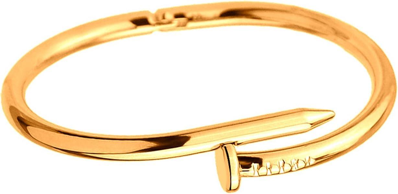 Amazon.com: Gome-z Nail Cuff Bangles Copper Love Bracelets ...